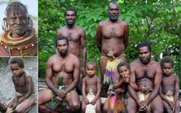 Секс племени каннибалов