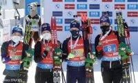 Украина наконец завоевала медаль на ЧМ по биатлону