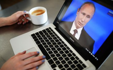 «Интернет не может быть местом «расхристанной квазисвободы», где бесконтрольно распространяется любая информация,» (В. Путин)