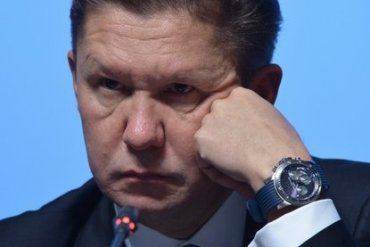 Миллер жалуется, что Киев не оплачивает газ, который РФ качает для Захарченко и Плотницкого