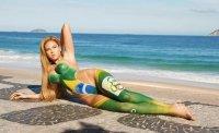 Бразильские модели снялись голыми в честь Олимпиады