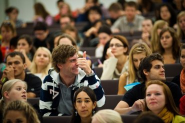 Студенты дают в жопу