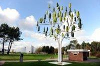 Искусственные деревья будут генерировать электроэнергию при помощи ветра