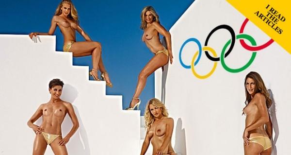 Олимпийская сборная Германии снялась для  Playboy.