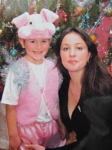 Ирина Крашкова с сыном