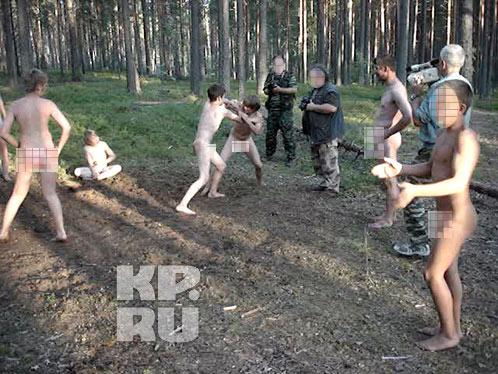 в лагере голышом фото