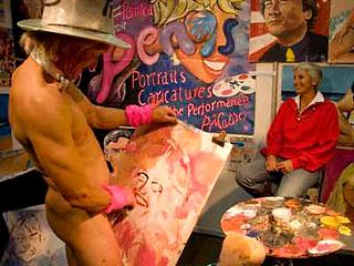 Видео художница рисует член фото 291-850