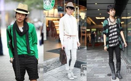Природную худощавость китайцы подчеркивают узкими, обтягивающими брюками и