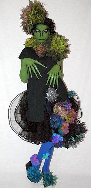Костюм кикиморы взрослый своими руками фото на новый год