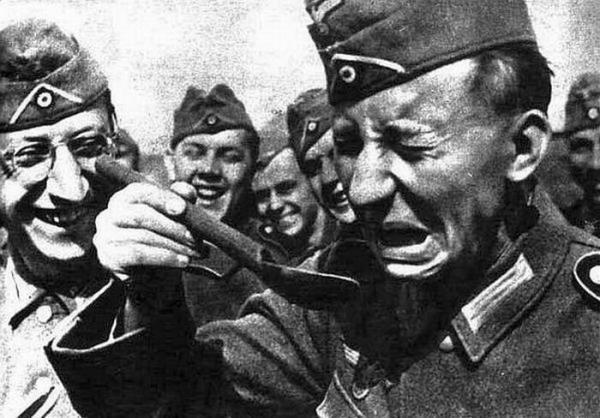Солдат во время второй мировой