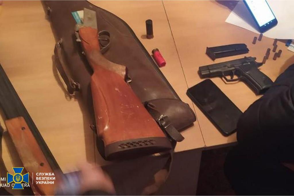 У злоумышленников изъяли оружие и боеприпасы