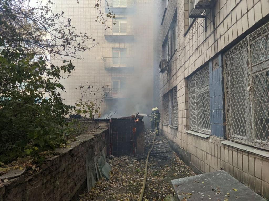Огнеборцы локализовали пожар